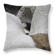 Himalayan Rock Throw Pillow