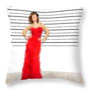 Carmela Throw Pillow by Nancy Levan