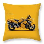 Hayabusa In Yellow Throw Pillow