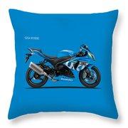 Suzuki Gsx R1000 Throw Pillow