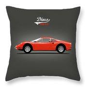 The Dino Throw Pillow
