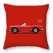 The Maserati 3500 Throw Pillow