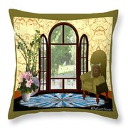 Country Friends Throw Pillow