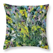 The Feeling Of Spring Throw Pillow