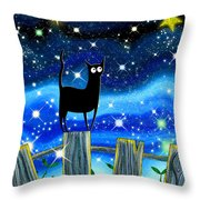 Paper Stars Throw Pillow by Andrew Hitchen