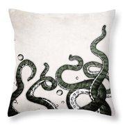 Octopus Tentacles Throw Pillow