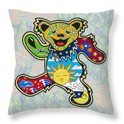 Grateful Dead Throw Pillow