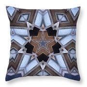 Building A Star Throw Pillow