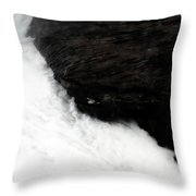 Carved In Stone Throw Pillow
