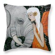 Erynn Rose Throw Pillow