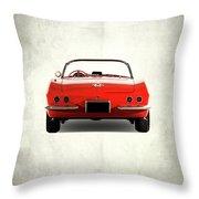 The 62 Corvette Throw Pillow