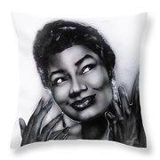 Pearl Bailey Throw Pillow