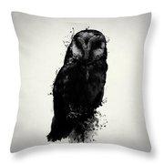 The Owl Throw Pillow