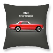 Ferrari 250 Gt 1959 Throw Pillow