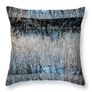 Beauty You See Throw Pillow