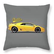 Lamborghini Diablo 88 Throw Pillow