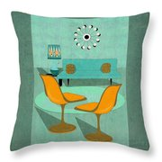 Room For Conversation Throw Pillow