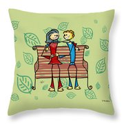 Life And Living Throw Pillow