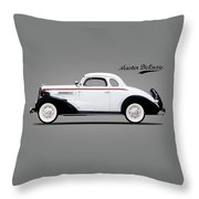 Master Deluxe Sport 1937 Throw Pillow