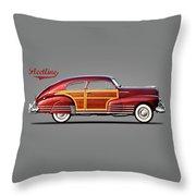 Chevrolet Fleetline 1948 Throw Pillow