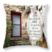 With Me - Quote Throw Pillow