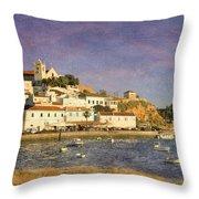 Ferragudo, Portugal Throw Pillow