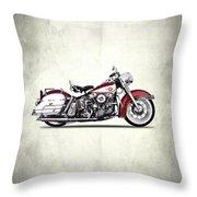 Harley Model Fl 1960 Throw Pillow