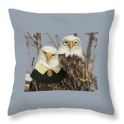 American Gothic Eagle Style Throw Pillow