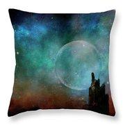 Planetary Soul Chava Throw Pillow