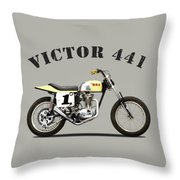 The Bsa 441 Victor Throw Pillow