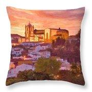 Silves, The Algarve Throw Pillow