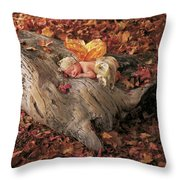 Woodland Fairy Throw Pillow by Anne Geddes