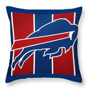 Bills Football Club Throw Pillow