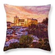 Silves Dusk Throw Pillow
