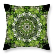 Inspired Action Throw Pillow