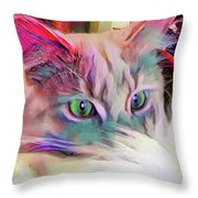Dreaming Of A Sunny Spot Throw Pillow