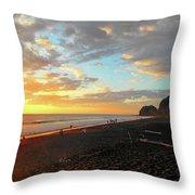 Playa Hermosa Puntarenas Costa Rica - Sunset A One Throw Pillow