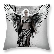 Valkyrja Throw Pillow