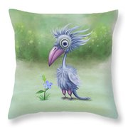 Beauty Is Subjective Throw Pillow by Ivana Westin