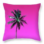 Palm Tree Puerto Rico Throw Pillow