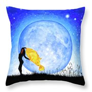 Daughter Of The Moon Throw Pillow by Mark Tisdale
