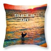 Venice Beach Boogie Throw Pillow
