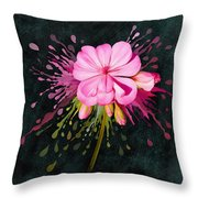 Color Eruption  Throw Pillow by Ivana Westin