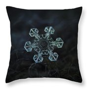 Real Snowflake - Ice Crown New Throw Pillow