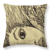 Unpainted Throw Pillow