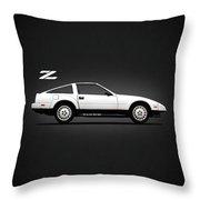 The 300 Zx Throw Pillow