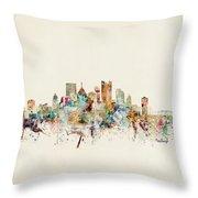 Pittsburgh Pennsylvania Throw Pillow