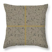 Earthtexturegold Throw Pillow