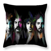 Any Colour You Like Throw Pillow