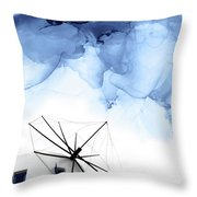 Stormy Weather II Throw Pillow